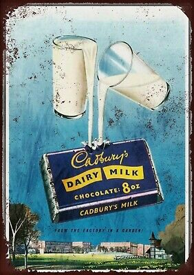 £6.50 • Buy Cadburys Metal Wall Sign