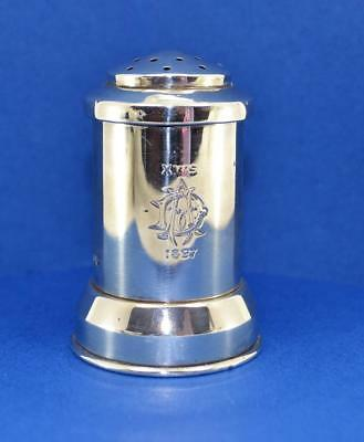 Victorian Sterling Silver Pepper Mill Goldsmiths & Silversmiths Co Xmas 1897 • 224.99£
