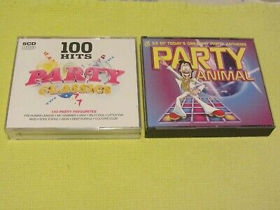 £4.99 • Buy 100 Hits Party Classics & Party Animal 2 Albums 8 CDs Duran Duran ELO Chic Wham