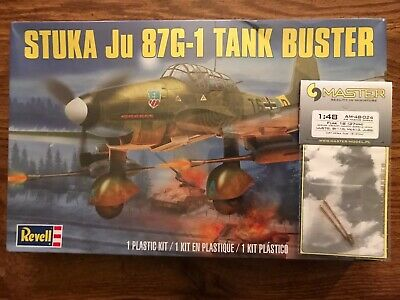 $14.95 • Buy Revell 1:48 Scale Junkers Ju 87G-1 Stuka With Aftermarket Cannon Barrels