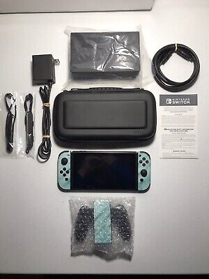$355 • Buy Nintendo Switch Console~Turquoise Skin~32GB Bundle~Pre-Owned~Excellent Condition