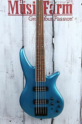 $ CDN805.49 • Buy Jackson X Series Spectra Bass SBX V 5 String Electric Bass Guitar Electric Blue
