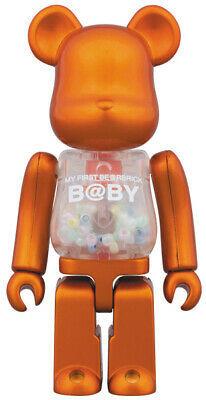 $79.99 • Buy My First Bearbrick Baby 100% Be@rbrick B@by Project 1/6 2016 Medicom Pearl Rare