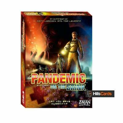 AU51.61 • Buy Pandemic: On The Brink Board Game Expansion By Z-Man Games | 2-5 Player | New