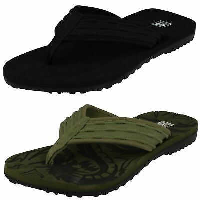 Mens Down To Earth 'A0043' Casual Toe Post Mule Sandals • 9.99£