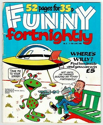 Funny Fortnightly Comic #6 June 1989 Whoopee Cheeky Buster Whizzer Chips Krazy • 1£