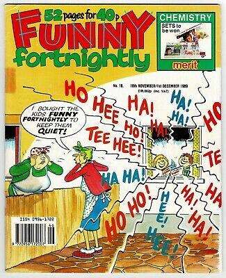 Funny Fortnightly Comic #18 Nov 1989 Whoopee Cheeky Buster Whizzer Chips Krazy • 1£