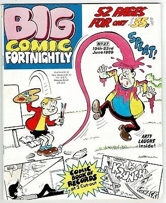 Big Comic Fortnightly #27 June 1989 Whoopee Cheeky Buster Whizzer Chips Cor! • 1£