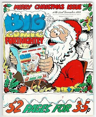 Big Comic Fortnightly #14 December 1988 Christmas Xmas Issue Whoopee Buster Cor! • 1£
