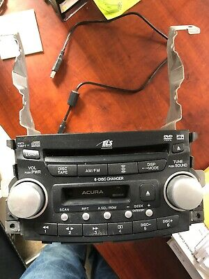 $100 • Buy 04-06 Acura TL AM FM Receiver Radio 6 CD Changer Player Stereo Unit OEM