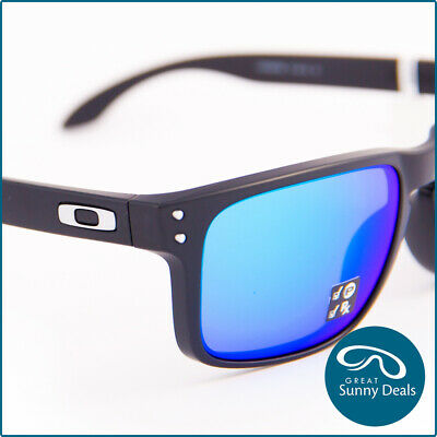 AU199.95 • Buy NEW Oakley Holbrook Polarised Matte Black Sapphire Prizm (9102-F0) Sunglasses