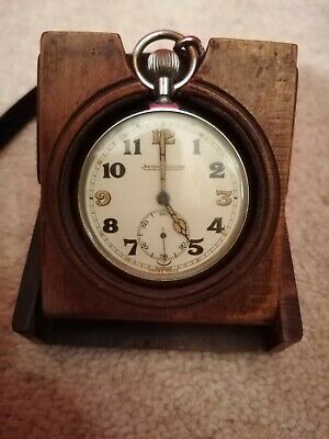 Jeager Le Coultre Military Pocket Watch GSTP WW1 WW2 Working, Good Condition  • 350£