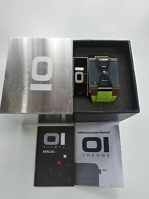 $189 • Buy The One Watch 01 An09 Watch Green With Modern Face. New In Box!