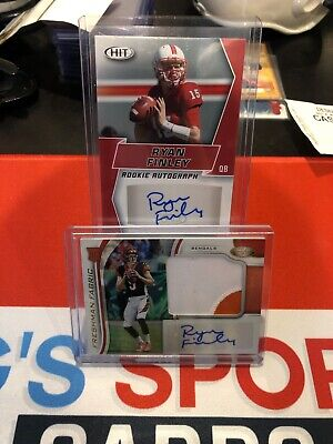$ CDN11.99 • Buy 2019 Certified #216 Ryan Finley Rookie Auto Jersey 286/499 Lot 2