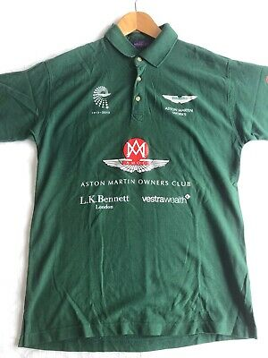 Aston Martin Polo Shirt, XL, 2013 Anniversary, Very Limited, AMOC, Charity Event • 25£