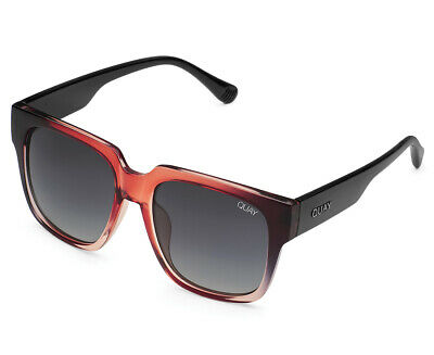 AU39.99 • Buy  Quay Australia Women's On The Prowl Sunglasses - Black/Toffee/Smoke