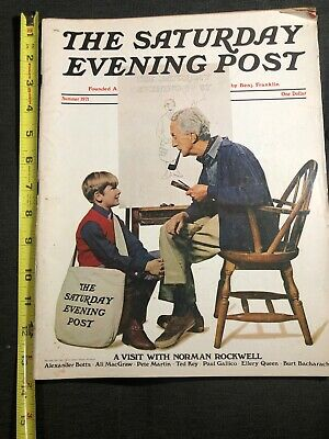 $ CDN26.80 • Buy The Saturday Evening Post Summer 1971 Norman Rockwell, Ted Key, Pete Martin