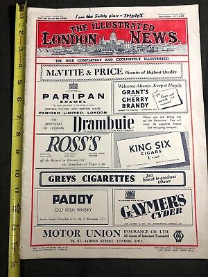 The Illustrated London News, December 11, 1943, The War Completely Illustrated. • 28.60£