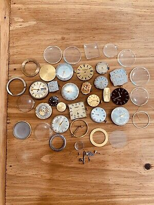 $ CDN29.56 • Buy Vintage Watches Lot Watch Movements Group Concord Longines Hamilton More