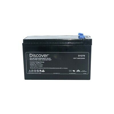 AU35 • Buy Discover SLA Battery D1270 (12V 7.0Ah) F2 NBN Battery Replacement