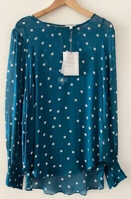 AU19.99 • Buy Witchery Shirred Cuff Blouse Size 16 RRP$119.95