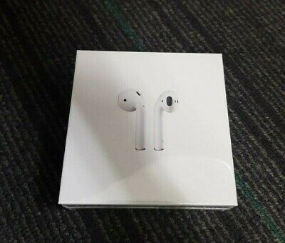 AU229 • Buy Apple AirPods 2nd Generation With Charging Case - MV7N2ZA/A - BRAND NEW SEALED