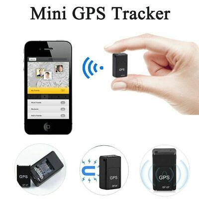 UK Magnetic Mini GPS Tracker Car Kids GSM GPRS Real Time Tracking Locator Device • 9.65£