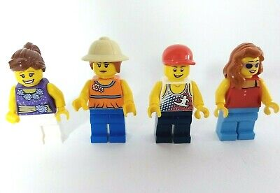 LEGO MiniFigures Town City Bundle Skateboarder Figure Safari Lady  • 5.99£