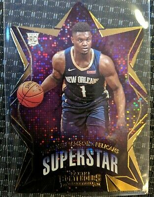 $19.50 • Buy 2019-20 Panini Contenders Zion Williamson Superstar Pelicans #8 Die Cut Rookie
