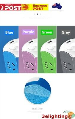 AU25.99 • Buy Power Board 4 Way Outlets Socket 3 USB Fast Charge 2.0A Ports Smart 1.8M Cord AU