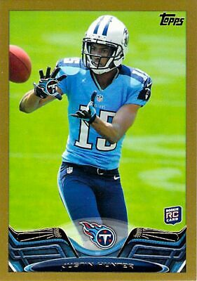 $1.44 • Buy 2013 Topps Gold #248 Justin Hunter NM-MT RC Rookie /2013 Titans