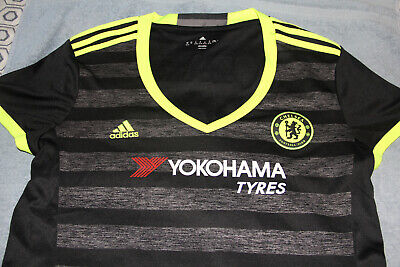 Chelsea Jersey 2016/2017 Away Adidas Womens XL Preowned • 5.71£