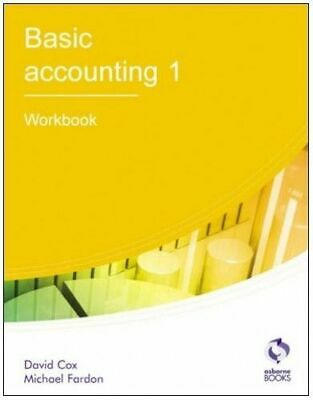 Basic Accounting 1: Workbook (AAT Accounting - L... By Fardon, Michael Paperback • 1.20£