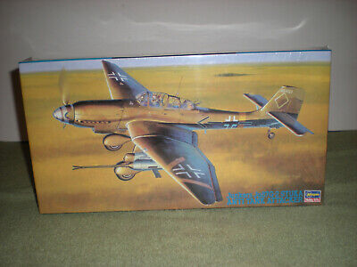 $19.95 • Buy (sealed) Hasegawa 1:48 Junkers Ju87 G-2 Stuka Anti Tank Attacker Model Kit /NOS