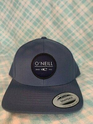 $12.99 • Buy O'neill Snapback Yupoong Grey Cap Hat $28 Retail