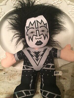 """KISS Ace Frehley """"Space Ace"""", 14"""" Plush Doll By Toy Factory 2014 • 8.15£"""