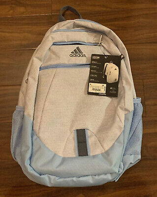 $29.99 • Buy NWT Adidas Foundation V Backpack Brasilia Prime Student White Glow Blue BTS