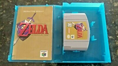 $49.95 • Buy The Legend Of Zelda: Ocarina Of Time Nintendo N64 *AUTHENTIC* Tested