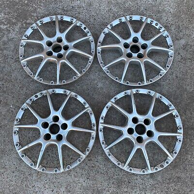 AU697.90 • Buy BBS RK504 Faces 5x100 17 Or Step To 18 Set Of 4