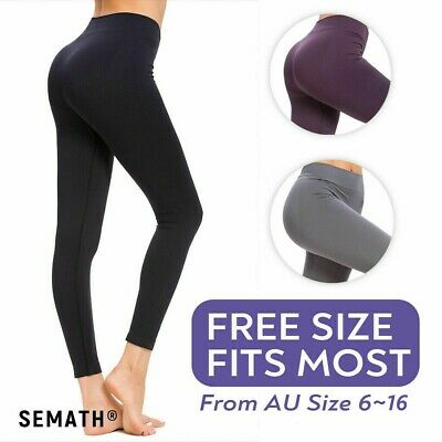 AU12.99 • Buy Women Fitness Gym Yoga Leggings High Waist Fragranced Pants Sports Trousers