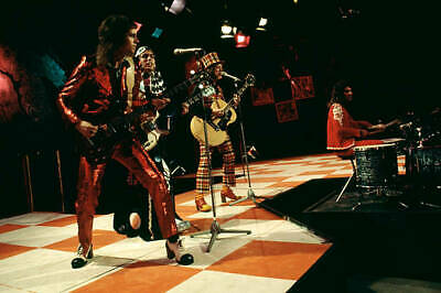 OLD MUSIC PHOTO Of Dave Hill And Don Powell And Jim Lea And Noddy Holder Slade 1 • 4.63£