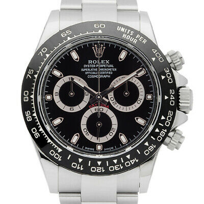 $ CDN56193.21 • Buy Rolex Daytona 116500 Stainless Steel Ceramic 40mm Automatic 1 Year Warranty