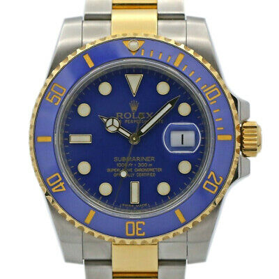 $ CDN33709.66 • Buy Rolex Submariner 116613 Men's Stainless Steel Automatic Blue 1 Year Warranty