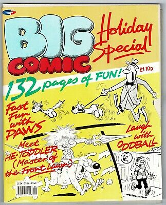 Big Comic 1991 Summer Holiday Special Whoopee Cheeky Buster Whizzer Chips Cor! • 2.50£