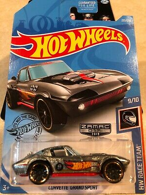 $1 • Buy Hot Wheels 2019 Zamac NIP Corvette Grand Sport