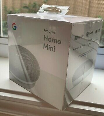 AU26 • Buy Google Home Mini Smart Assistant - Chalk - Brand New - Sealed Box