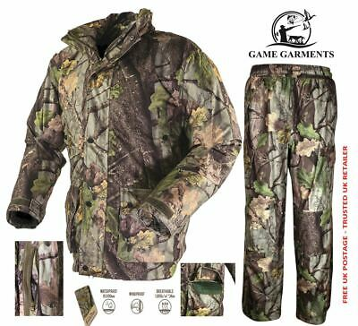 Evo Camo Suit, Jacket & Trousers Stealth Set, Camouflage, Waterproof, Hunting • 135£
