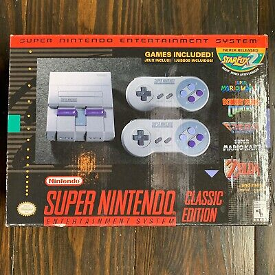 $ CDN211.54 • Buy Super Nintendo Entertainment System SNES Classic Edition
