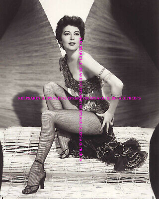 £5.82 • Buy Actress Ava Gardner Leggy In Fishnets And Strappy Heels Photo A-ag15