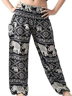 $12.99 • Buy Women's Harem Pants Bohemian Clothing Hippie Boho Elephant Pant Beach